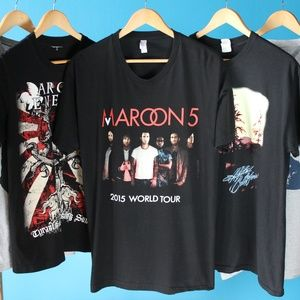 2015 Maroon 5 World Tour Band T-Shirt